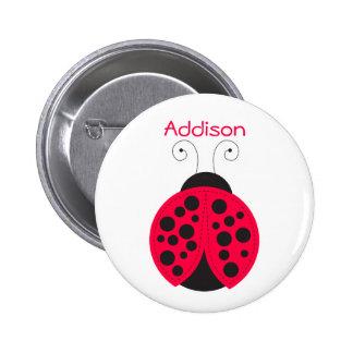 Badge nominatif de Ladybird