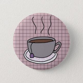 Badge Norme 2 de tasse de thé bouton de 1/4 pouce