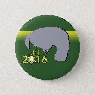Badge Norme, 2 graphique rond de Jill 2016 de bouton de