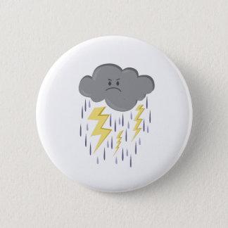 Badge Nuage de tempête