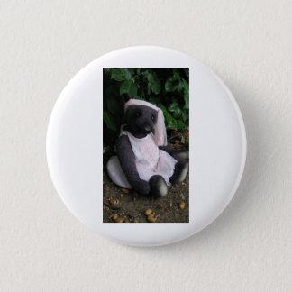 """Badge Objet de collection """"ours pourpre d'Amy Goodrich"""