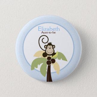 Badge Oh bouton de coutume d'ÉTIQUETTE de NOM de palmier