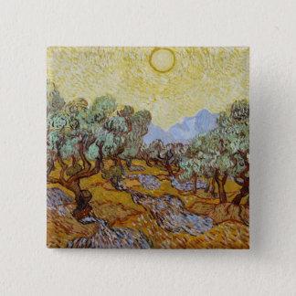 Badge Oliviers de Vincent van Gogh  , 1889