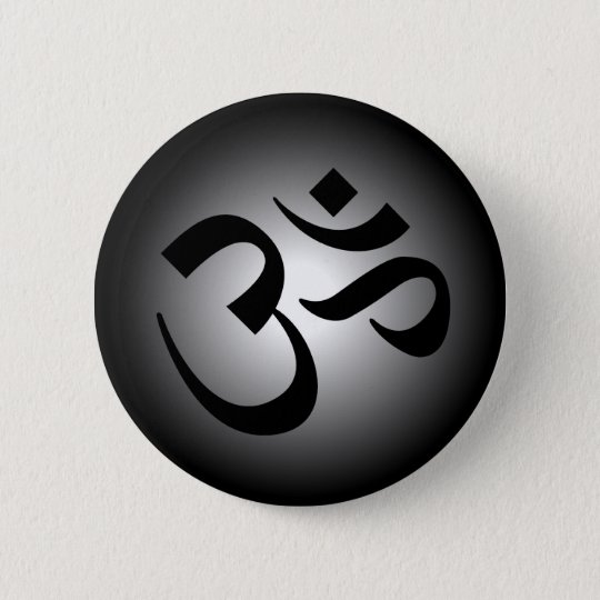 Badge OM indou - symbole de méditation