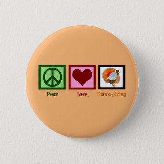 Badge Orange mignonne de thanksgiving