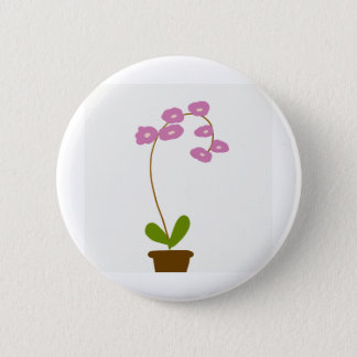 Badge orchidées