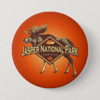 Badge Orignaux de parc national de jaspe