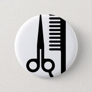 Badge Outils de coiffeur