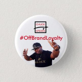 Badge Outre du bouton de fidélité à la marque