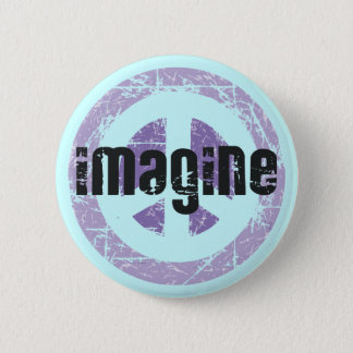 Badge Paix - imaginez la paix