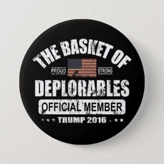 Badge Panier officiel de membre de Deplorables