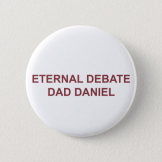 Badge Papa éternel de discussion