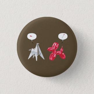 Badge Papier et chien de Baloon