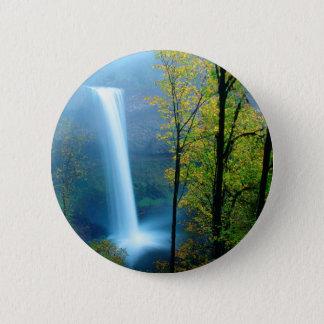 Badge Parc d'état argenté du sud de cascade