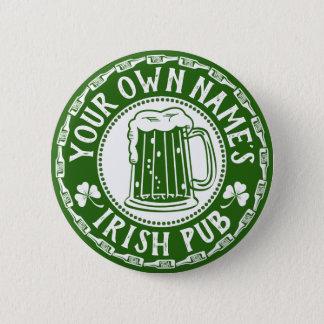 Badge Partie irlandaise du jour de Patrick de saint du
