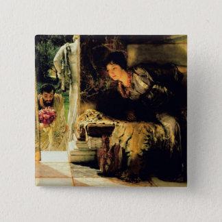 Badge Pas bienvenus d'Alma-Tadema |, 1883