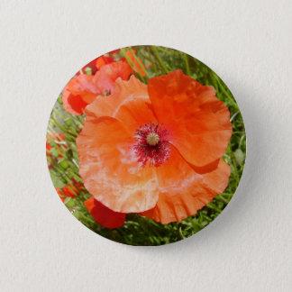 Badge Pavots - Coquelicots