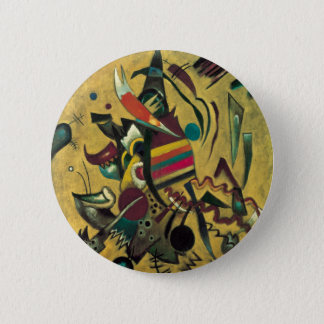 Badge Peinture abstraite de toile de points de Kandinsky