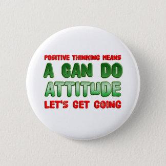 Badge Pensée positive