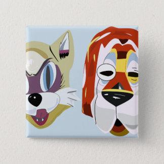Badge Petit déjeuner aux boutons du masque de Tiffany