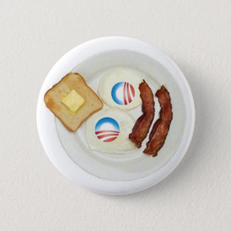 Badge Petit déjeuner de Pro-Obama 2012