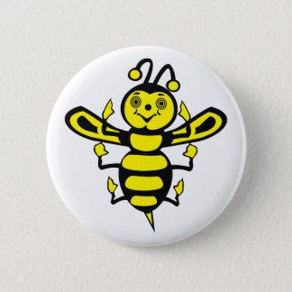 Badge Petite abeille heureuse