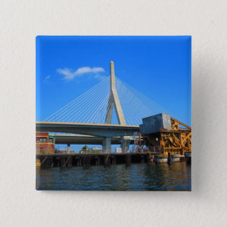 Badge Photo de pont de Boston sur des cadeaux