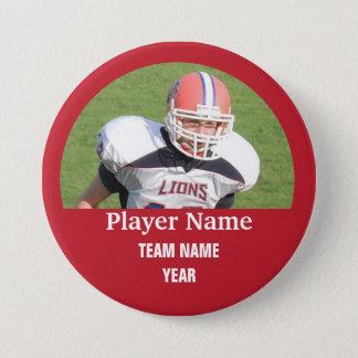 Badge Photo faite sur commande d'équipe de sports -