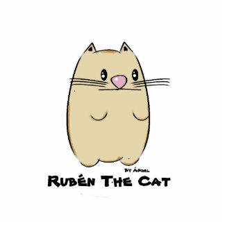Badge Photo Sculpture Rubén The Cat Pin