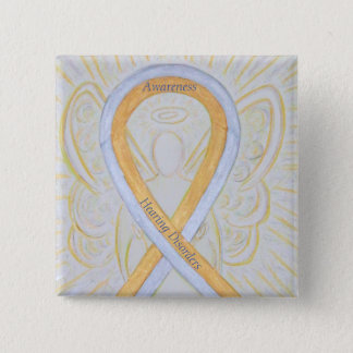 Badge Pin d'ange de ruban de conscience de troubles de