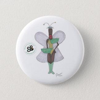 Badge Pin de bouton de mode de pseudo vert de célébrité