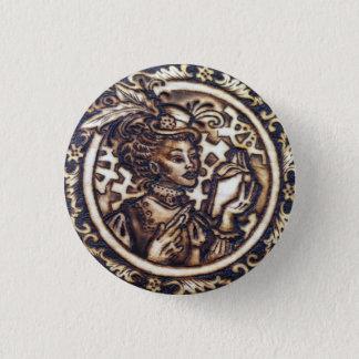 Badge Pin de bouton de Winnifred- Steampunk