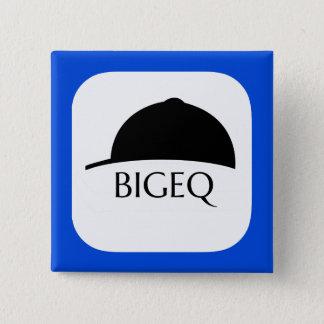 Badge Pin de bouton du fonctionnaire BIGEQ $$etAPP