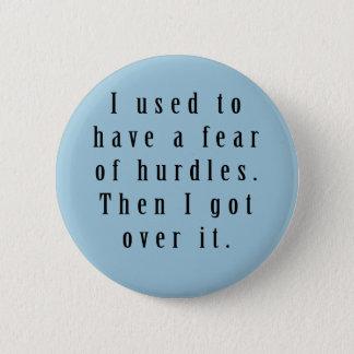 Badge Pin de calembour d'obstacles