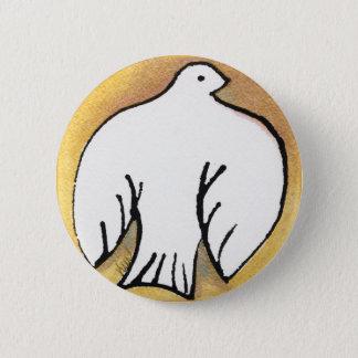 Badge Pin de colombe de Noël