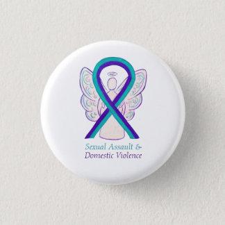 Badge Pin de conscience d'agression sexuelle et de