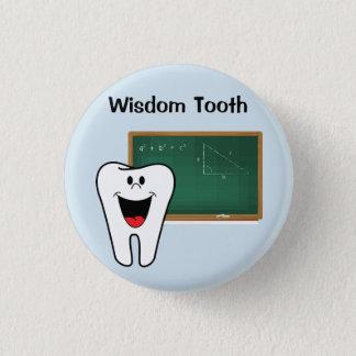 Badge Pin de dent de sagesse