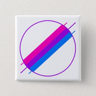 Badge Pin de fierté de Bi