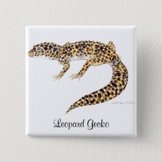 Badge Pin de Gecko de léopard