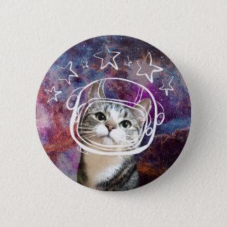 Badge Pin de Headshot de Meowstronaut Kiba