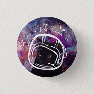 Badge Pin de Headshot de scooter de Meowstronaut