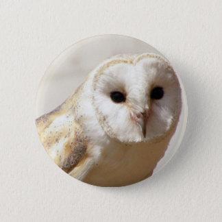 Badge Pin de hibou de grange de Milou