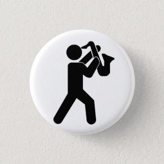 Badge Pin de joueur de saxophone