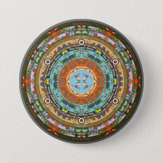 Badge Pin de mandala d'état de l'Arizona