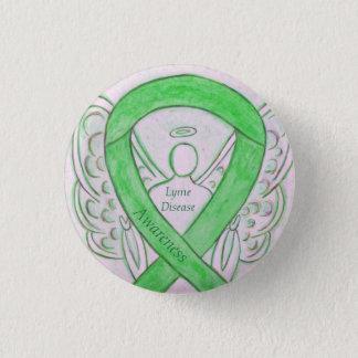 Badge Pin fait sur commande d'art de ruban d'ange de