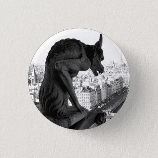 Badge Pin gothique de bouton de gargouille