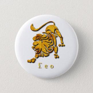 Badge Pin rond de signe de Lion