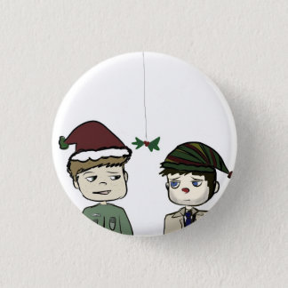 Badge Pin surnaturel de vacances de Destiel