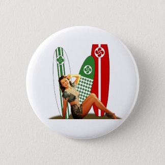 Badge Pin-up Basque France