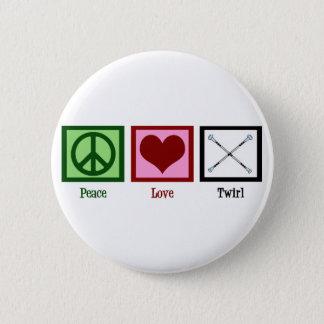 Badge Pirouette d'amour de paix